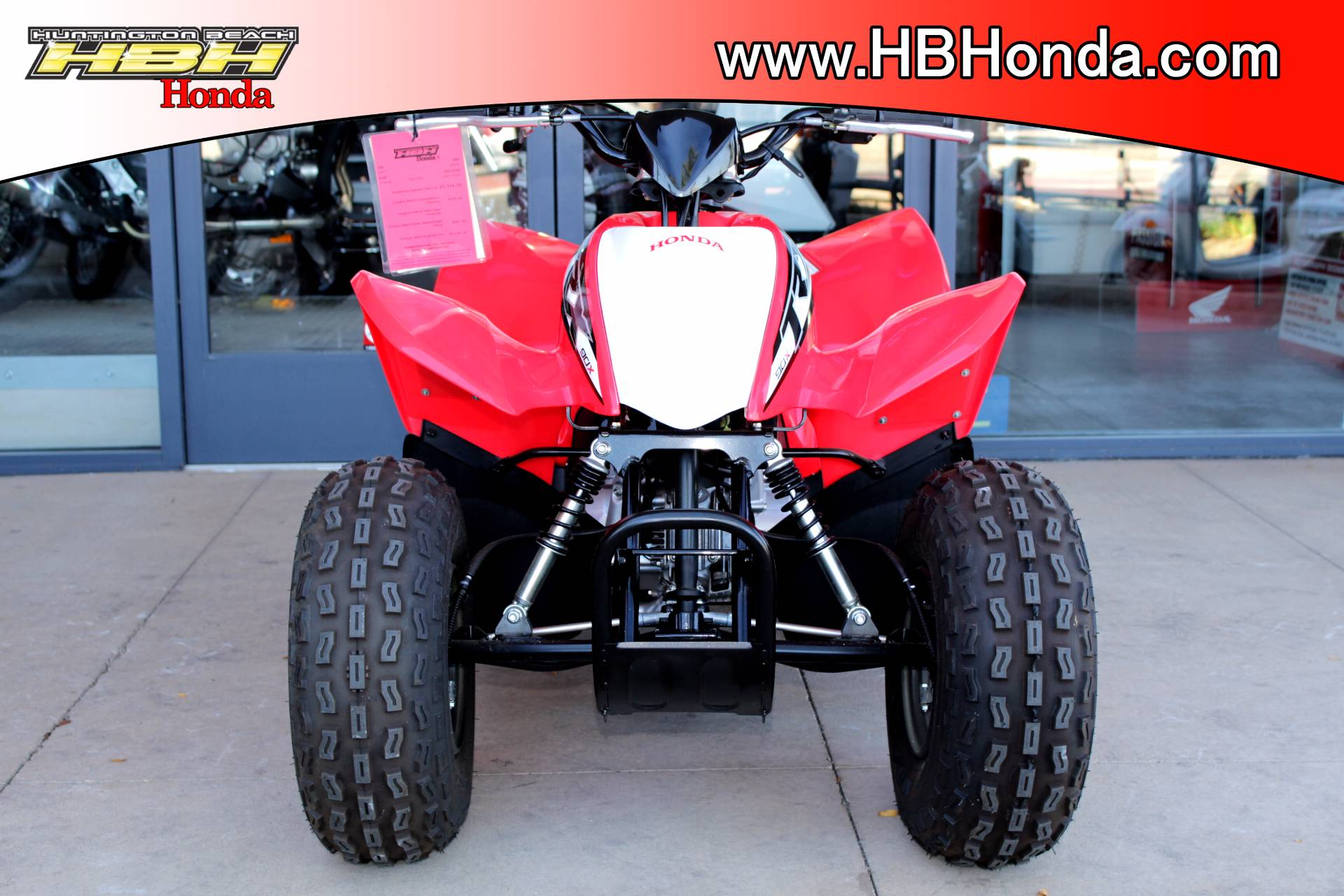 2018 Honda TRX90X in Huntington Beach, California