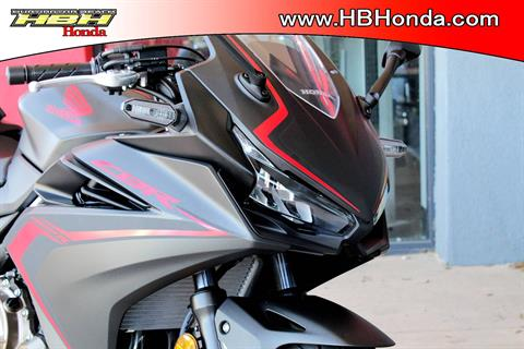 2019 Honda CBR500R ABS in Huntington Beach, California - Photo 3