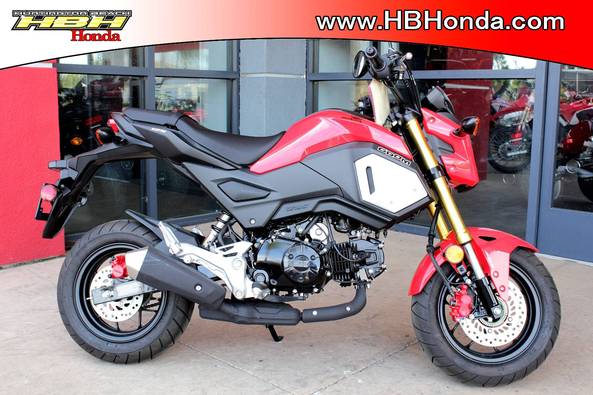 2019 Honda Grom in Huntington Beach, California - Photo 1