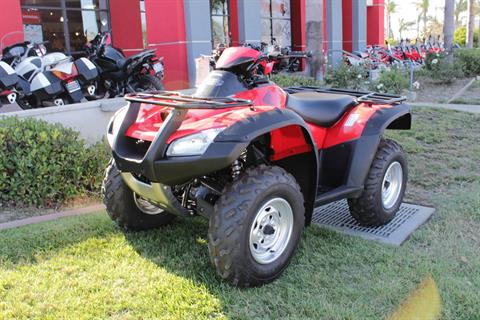 2017 Honda FourTrax Rincon in Huntington Beach, California