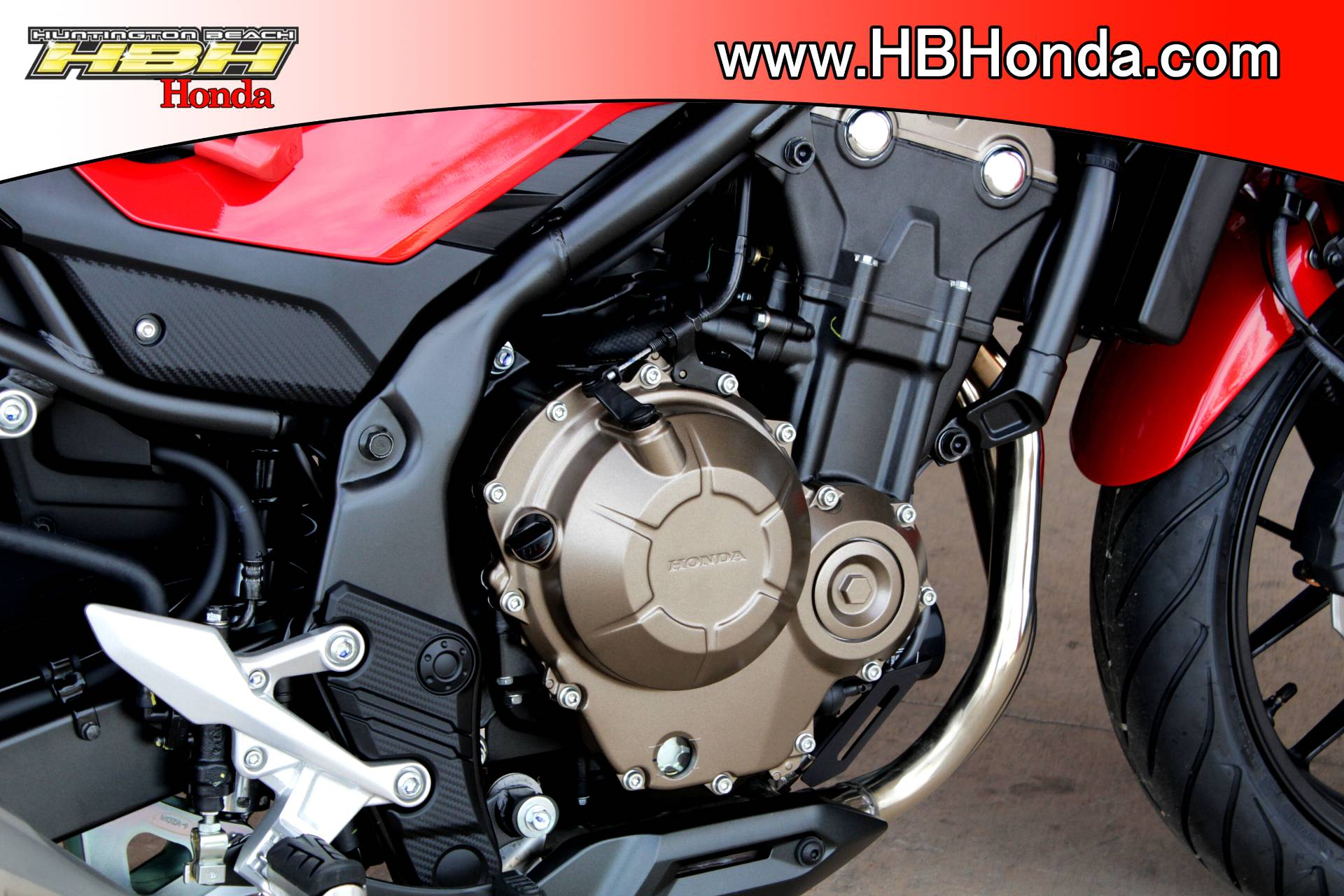 2017 Honda CB500F ABS in Huntington Beach, California