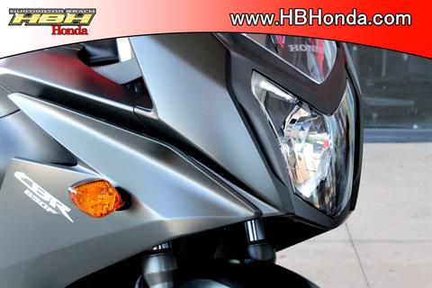2016 Honda CBR650F ABS in Huntington Beach, California