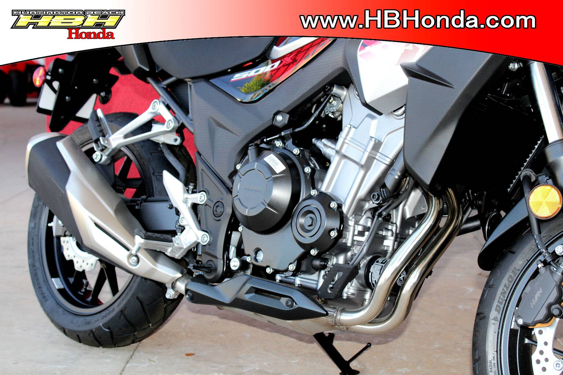 2018 Honda CB500X ABS in Huntington Beach, California