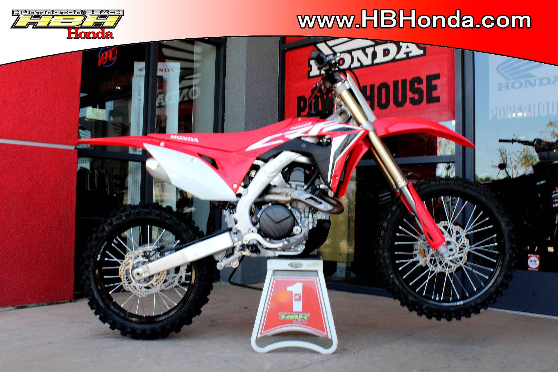 2020 Honda CRF450R in Huntington Beach, California - Photo 1
