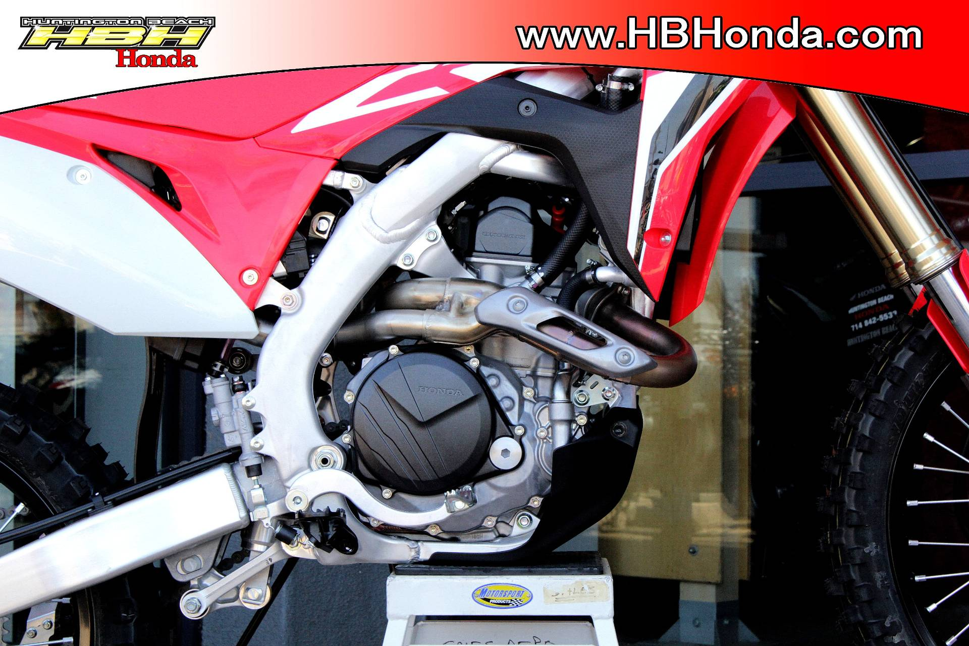 2020 Honda CRF450R in Huntington Beach, California - Photo 2