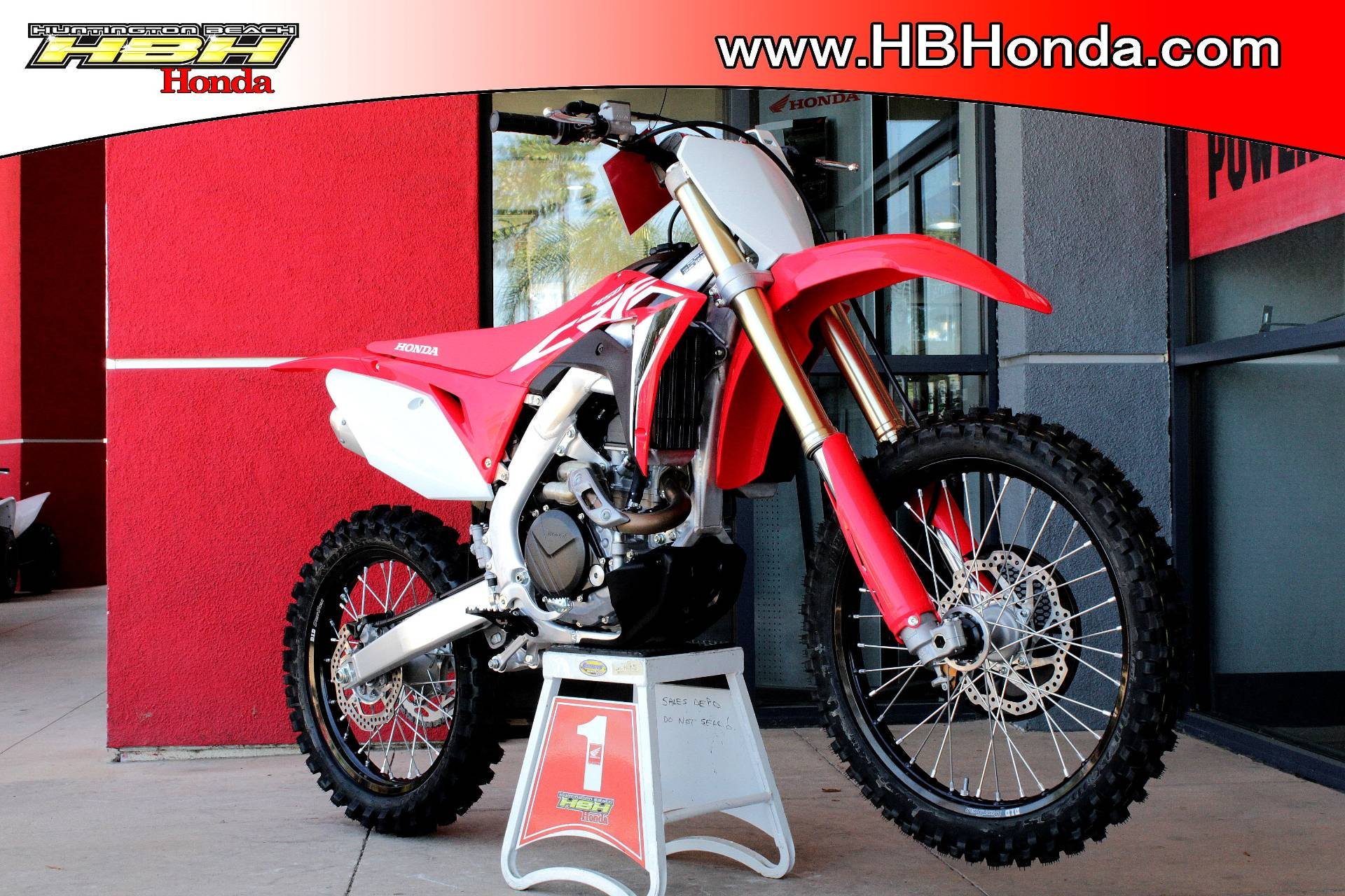 2020 Honda CRF450R in Huntington Beach, California - Photo 3
