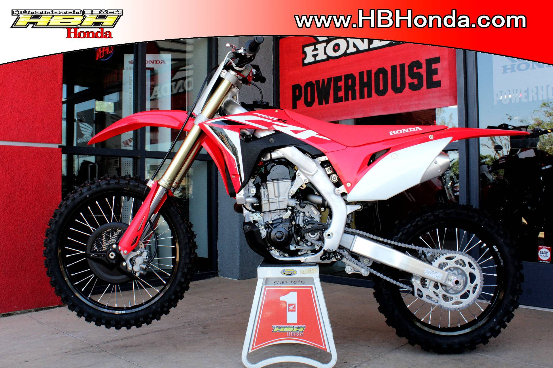 2020 Honda CRF450R in Huntington Beach, California - Photo 8