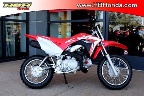 2019 Honda CRF110F in Huntington Beach, California - Photo 1