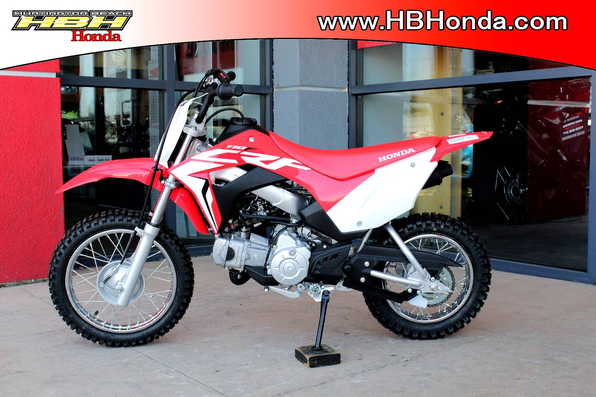 2019 Honda CRF110F in Huntington Beach, California - Photo 5