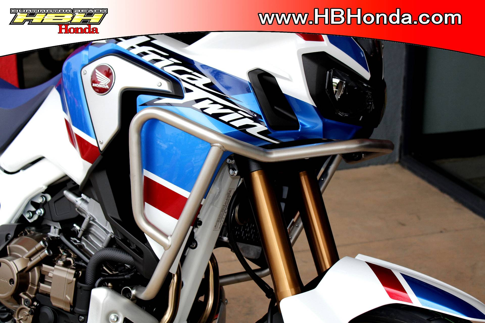 2018 Honda Africa Twin Adventure Sports DCT in Huntington Beach, California - Photo 3