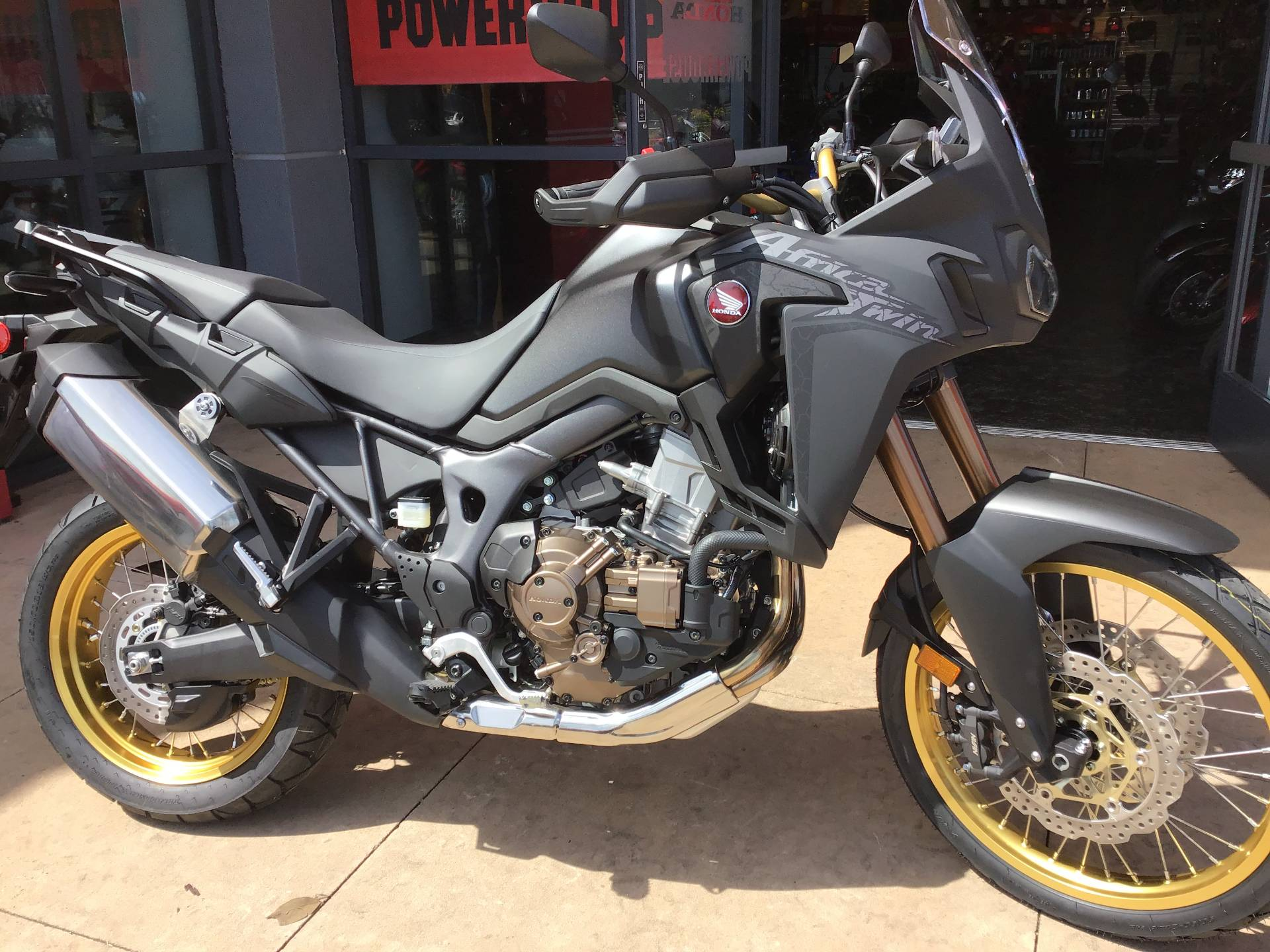 New 2019 Honda Africa Twin Dct For Sale Specs Photos Price Huntington Beach Ca Matte Black Metallic M2709 0142