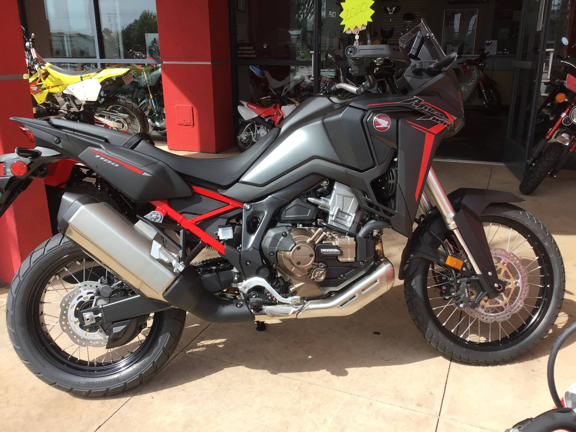 2020 Honda Africa Twin DCT in Huntington Beach, California - Photo 1