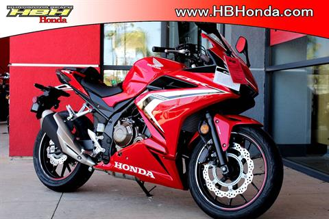 2019 Honda CBR500R ABS in Huntington Beach, California - Photo 2