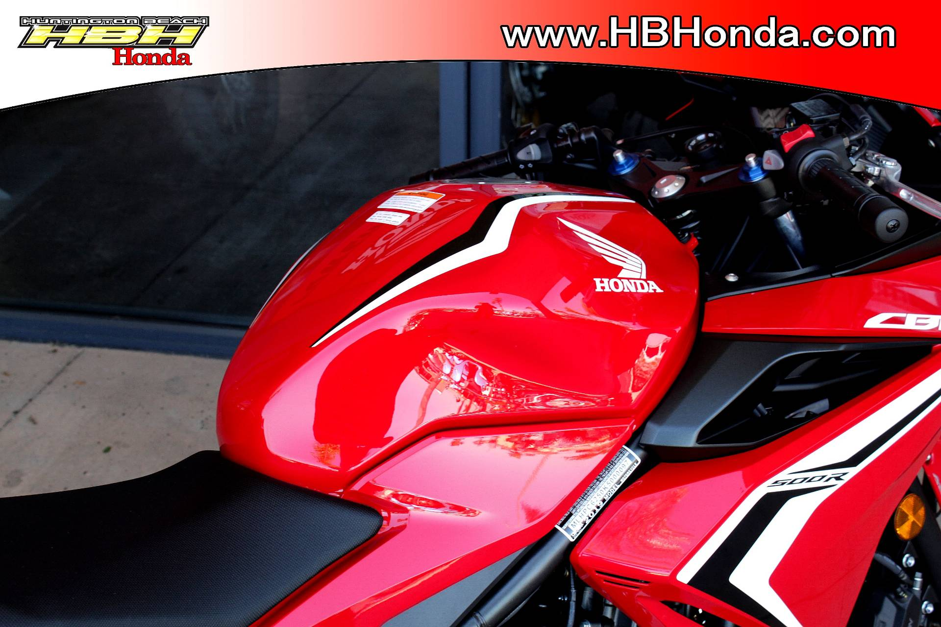 2019 Honda CBR500R ABS in Huntington Beach, California - Photo 4