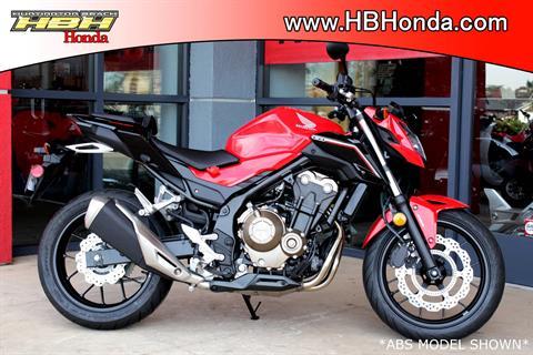 2017 Honda CB500F in Huntington Beach, California