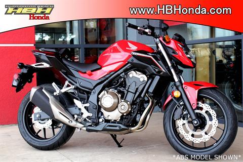 2017 Honda CB500F in Huntington Beach, California