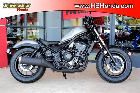 2018 Honda Rebel 500 ABS in Huntington Beach, California
