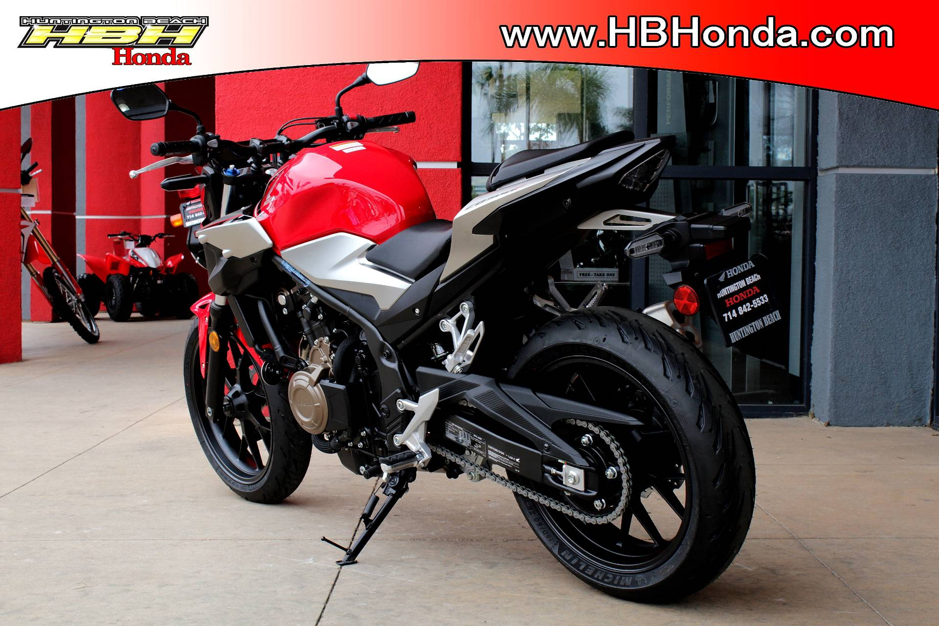 2019 Honda CB500F ABS in Huntington Beach, California - Photo 2