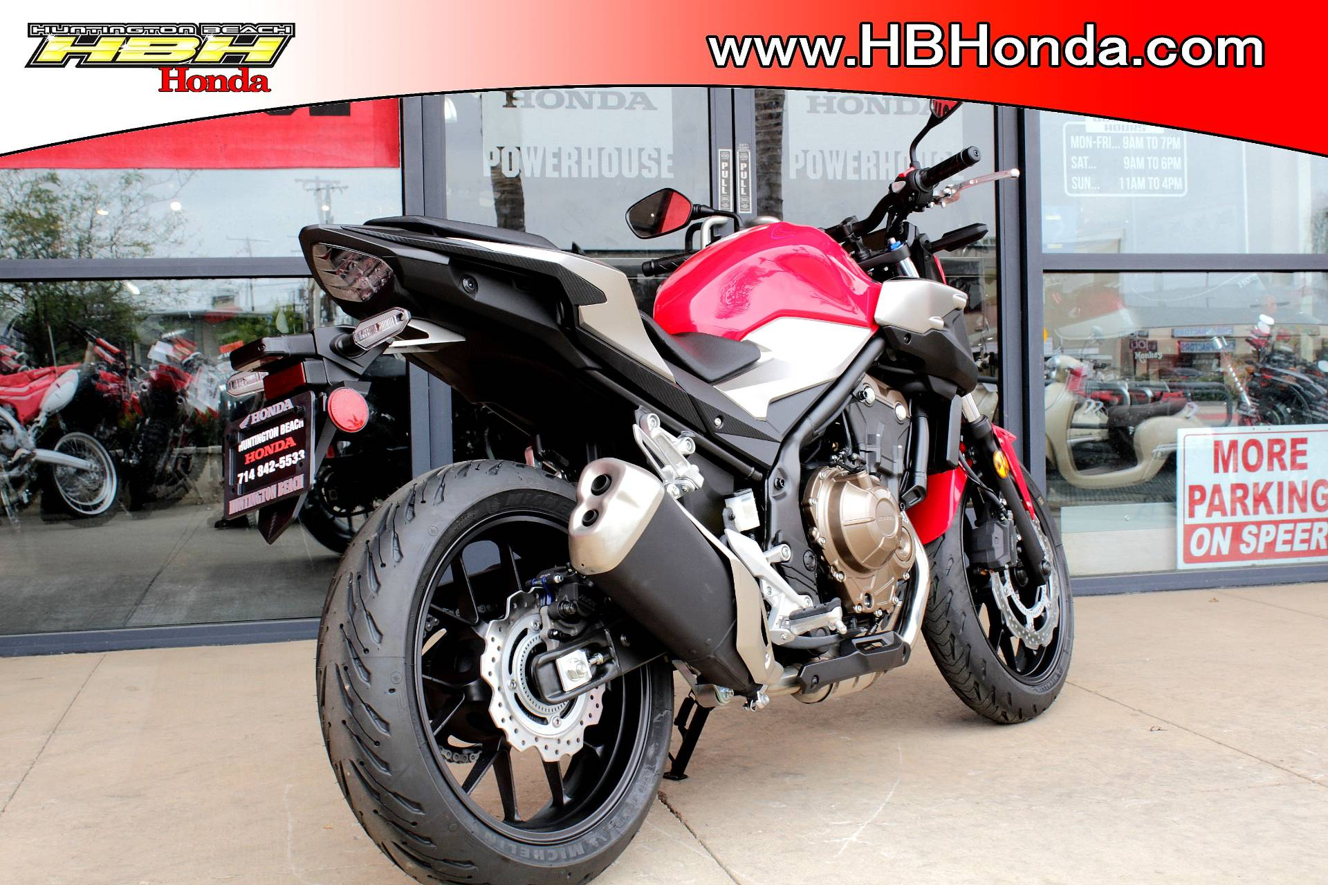 2019 Honda CB500F ABS in Huntington Beach, California - Photo 8