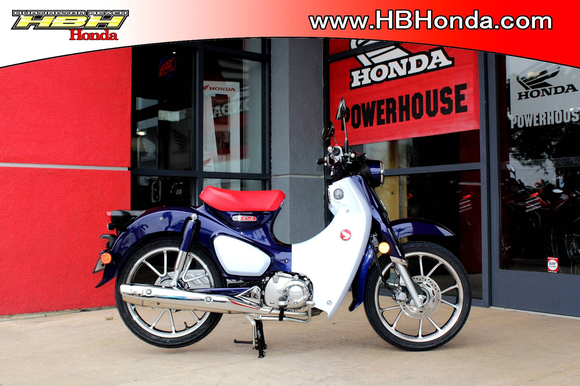 2019 Honda Super Cub C125 ABS in Huntington Beach, California - Photo 1