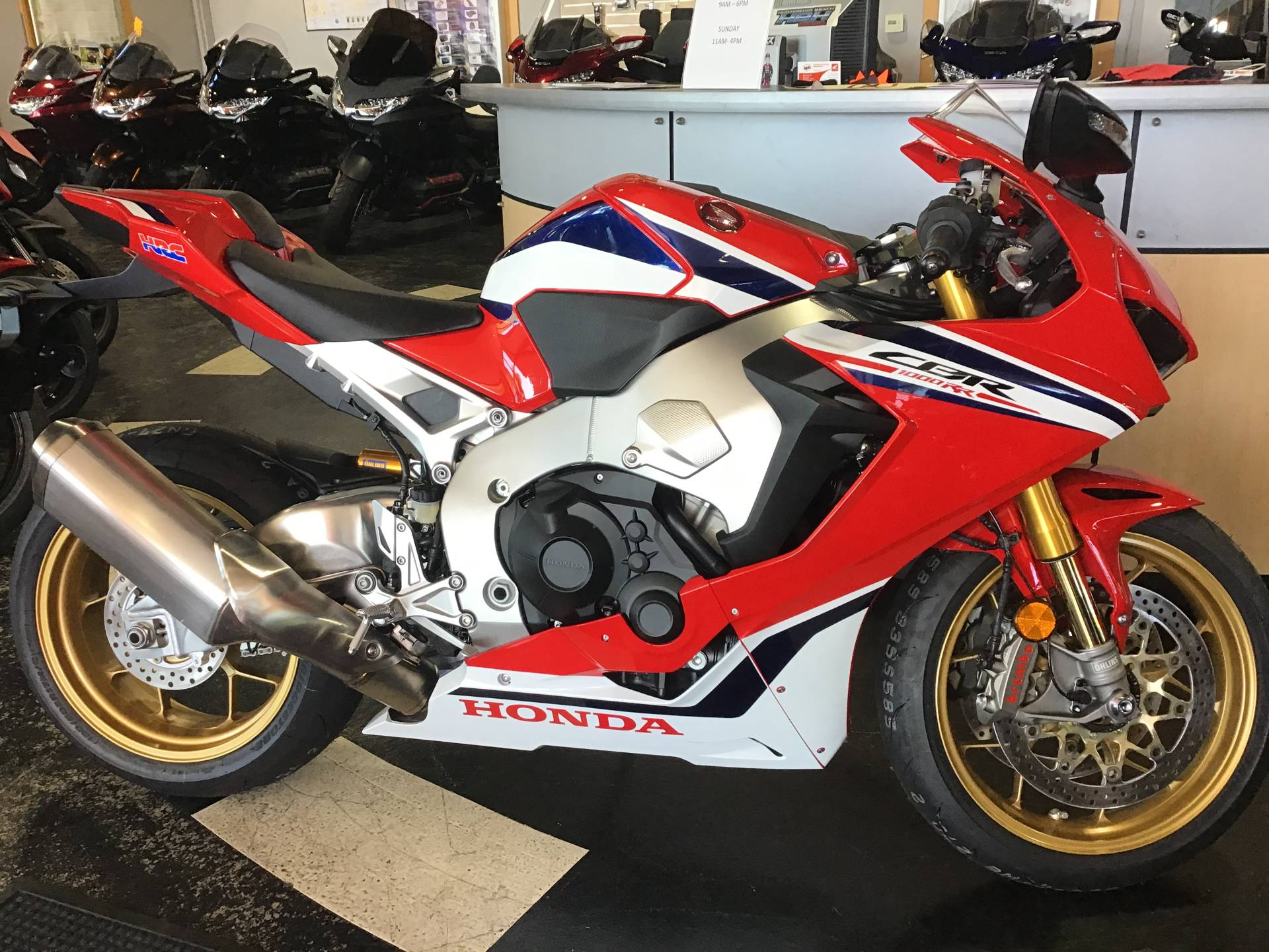 2019 Honda CBR1000RR SP in Huntington Beach, California - Photo 1