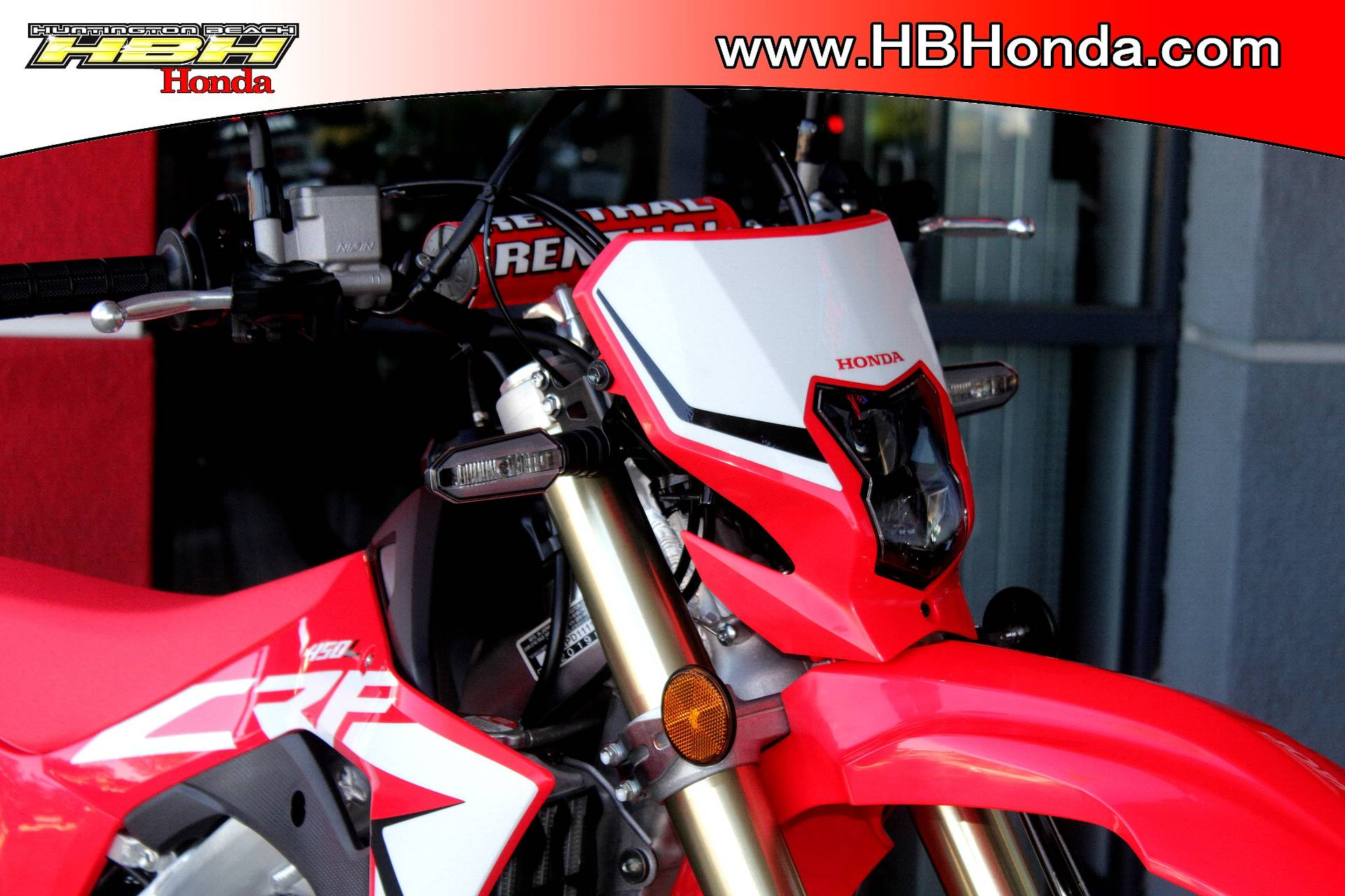 2019 Honda CRF450L in Huntington Beach, California - Photo 3