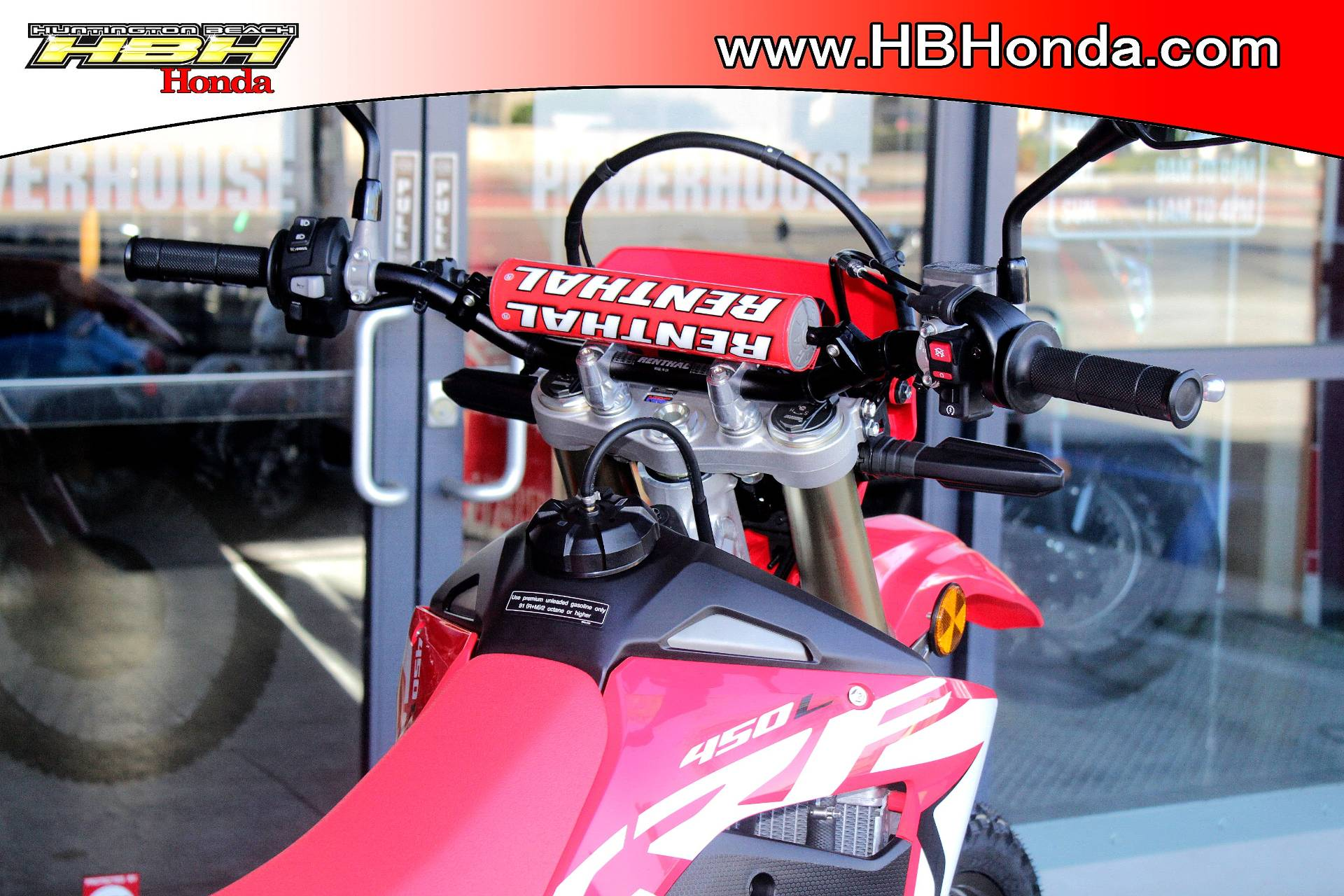 2019 Honda CRF450L in Huntington Beach, California - Photo 8