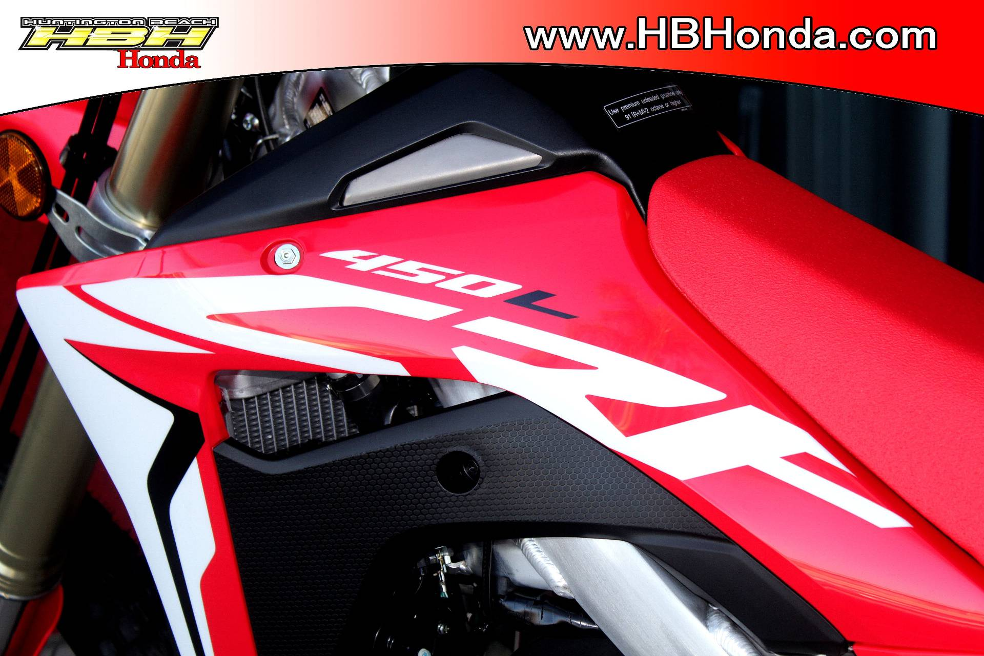 2019 Honda CRF450L in Huntington Beach, California - Photo 15