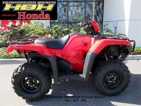 2015 Honda FourTrax® Foreman® Rubicon® 4x4 DCT EPS in Huntington Beach, California