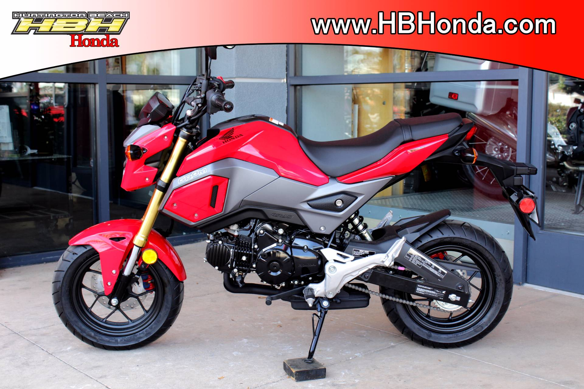 New 2018 Honda Grom Motorcycles for sale in Huntington Beach CA