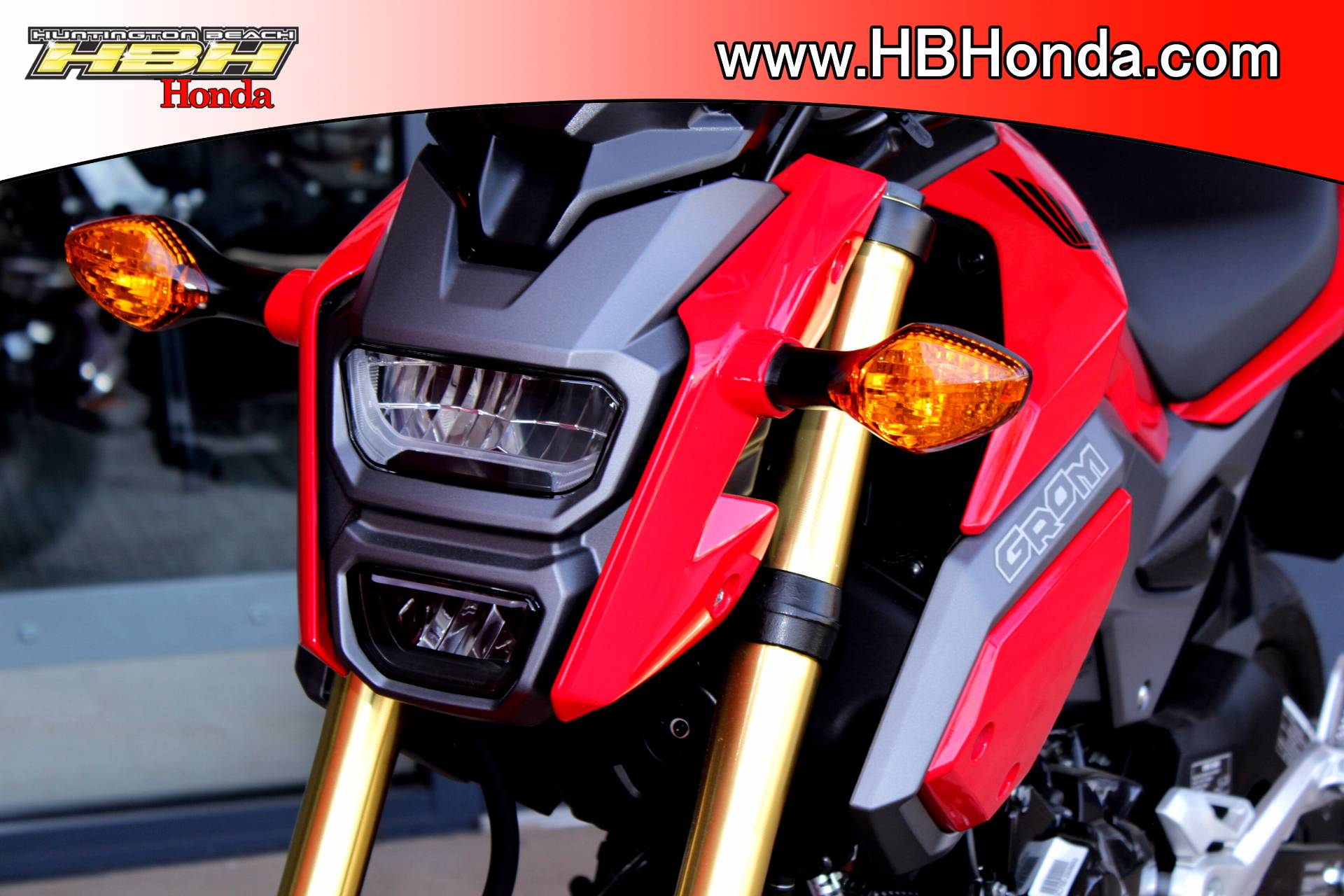 2018 Honda Grom ABS in Huntington Beach, California
