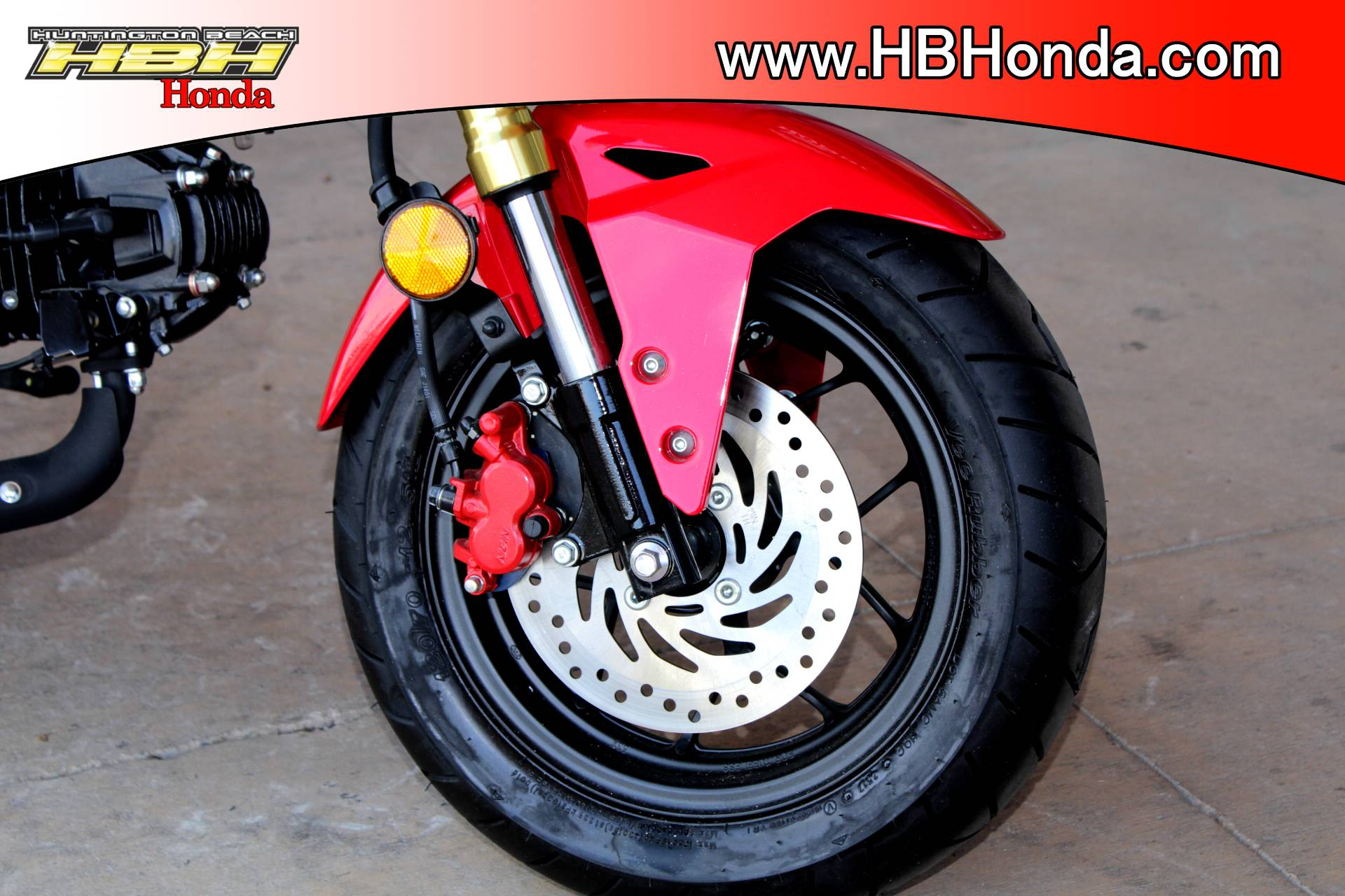 2018 Honda Grom ABS in Huntington Beach, California