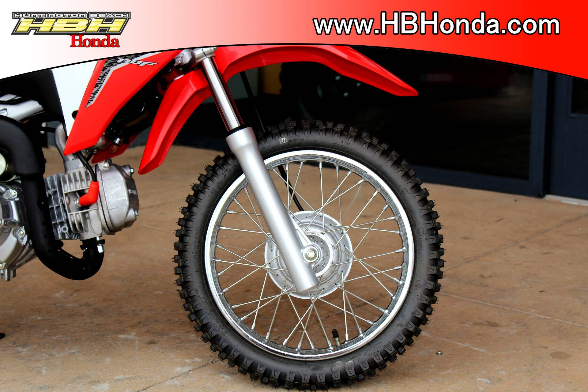 2018 Honda CRF110F in Huntington Beach, California