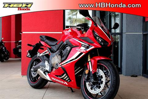 2019 Honda CBR650R ABS in Huntington Beach, California - Photo 1