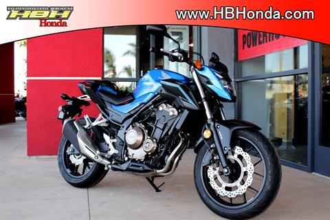 2018 Honda CB500F ABS in Huntington Beach, California