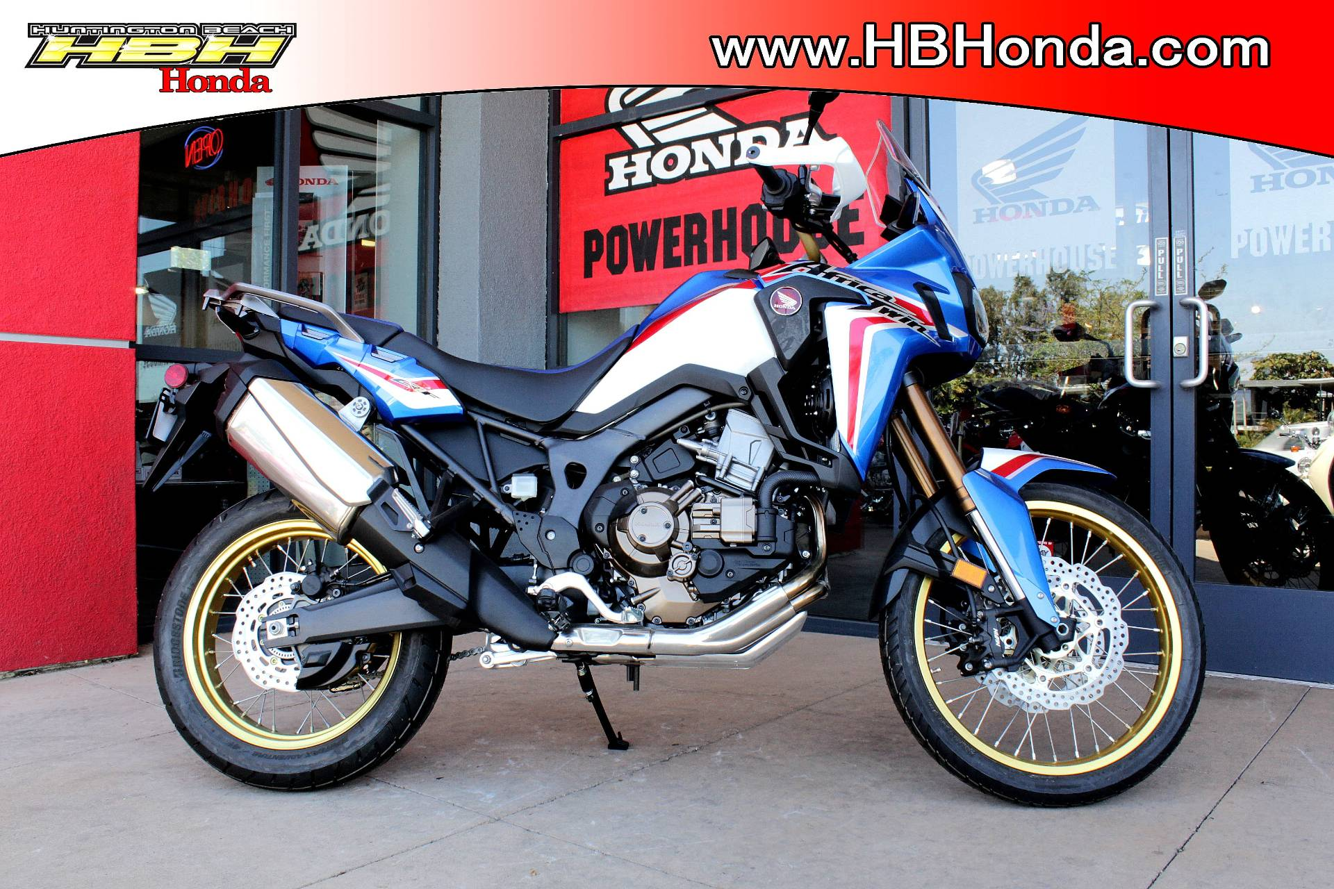 2019 Honda Africa Twin DCT in Huntington Beach, California - Photo 1
