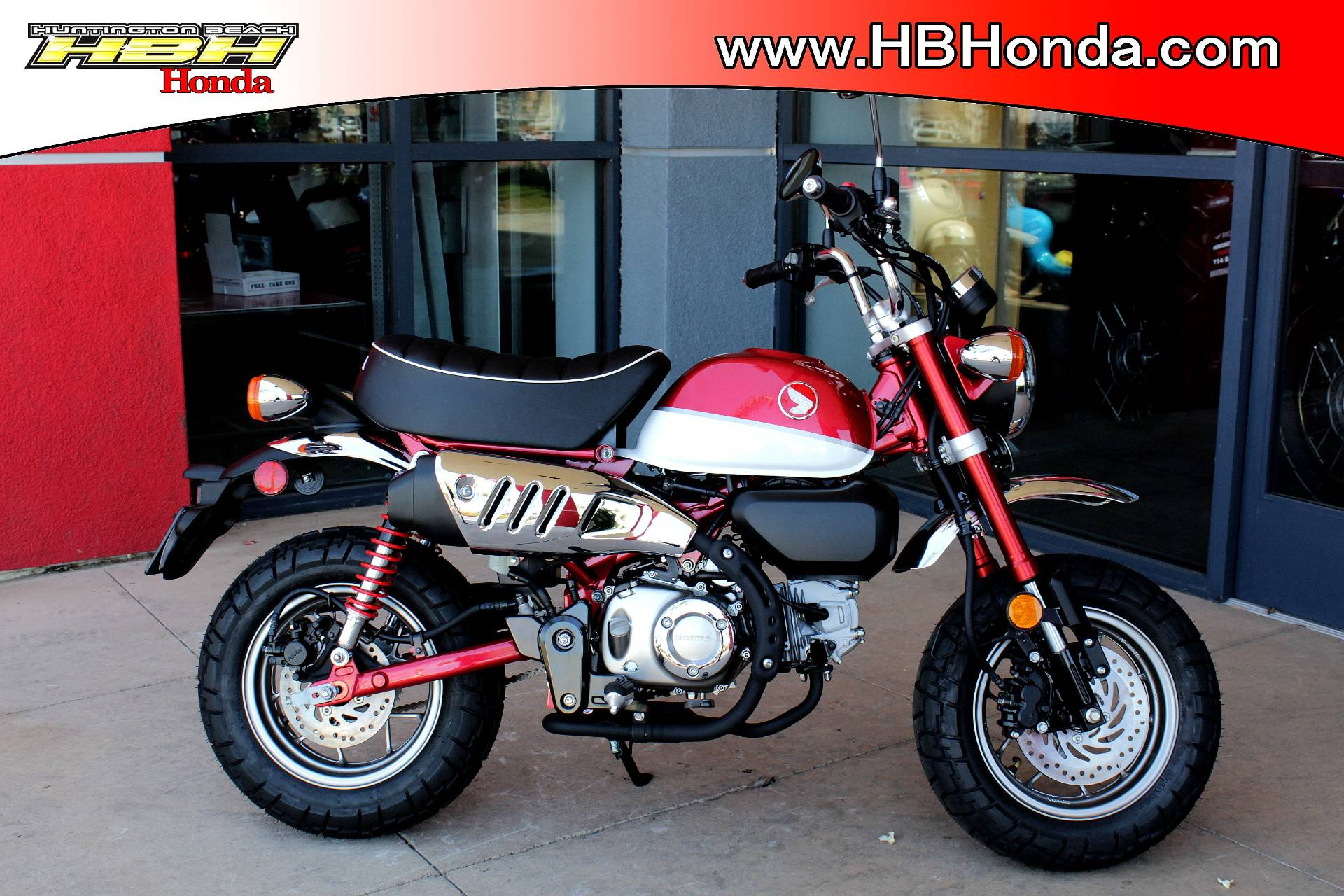 2020 Honda Monkey ABS in Huntington Beach, California - Photo 1