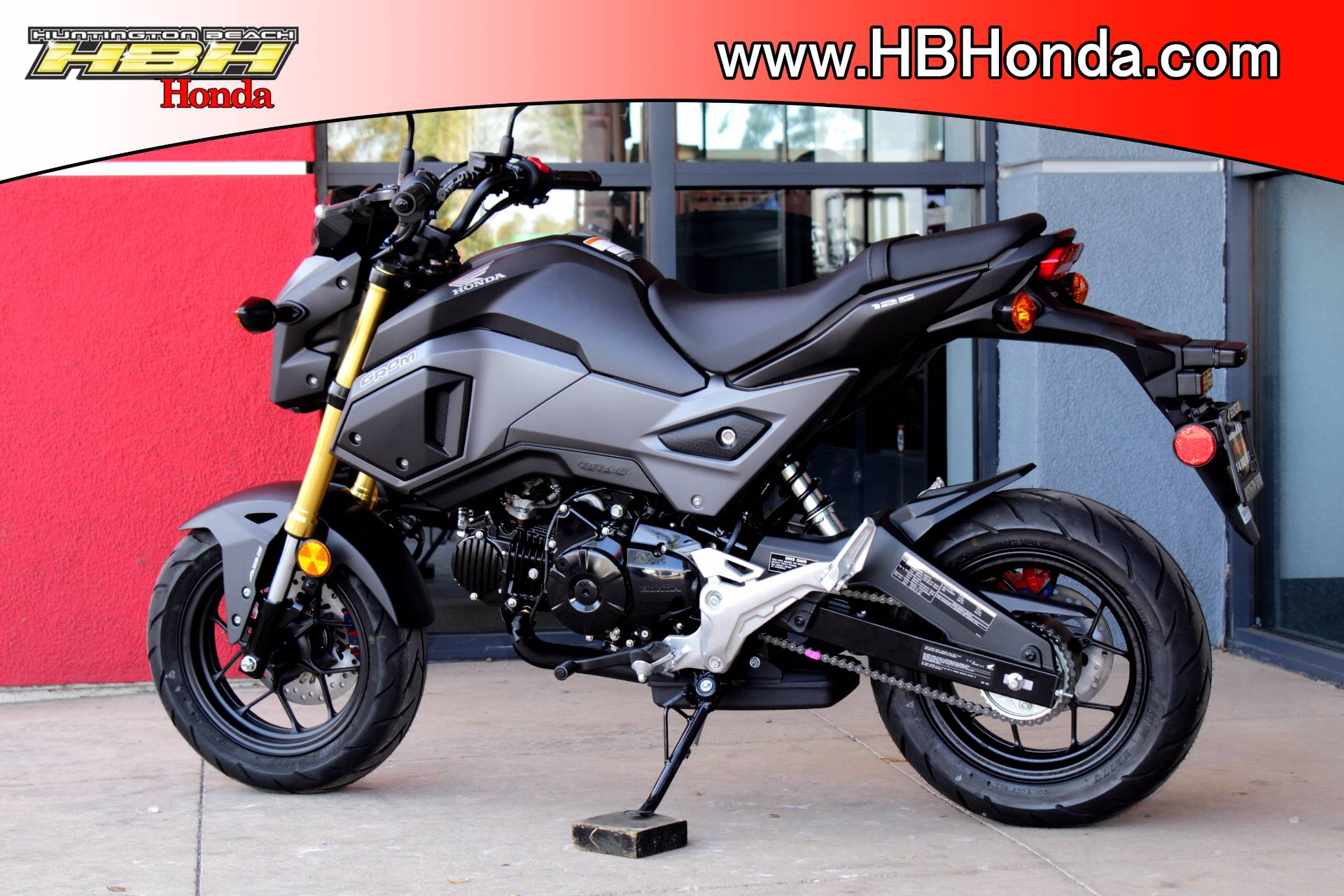 New 2018 Honda Grom ABS Motorcycles for sale in Huntington Beach CA