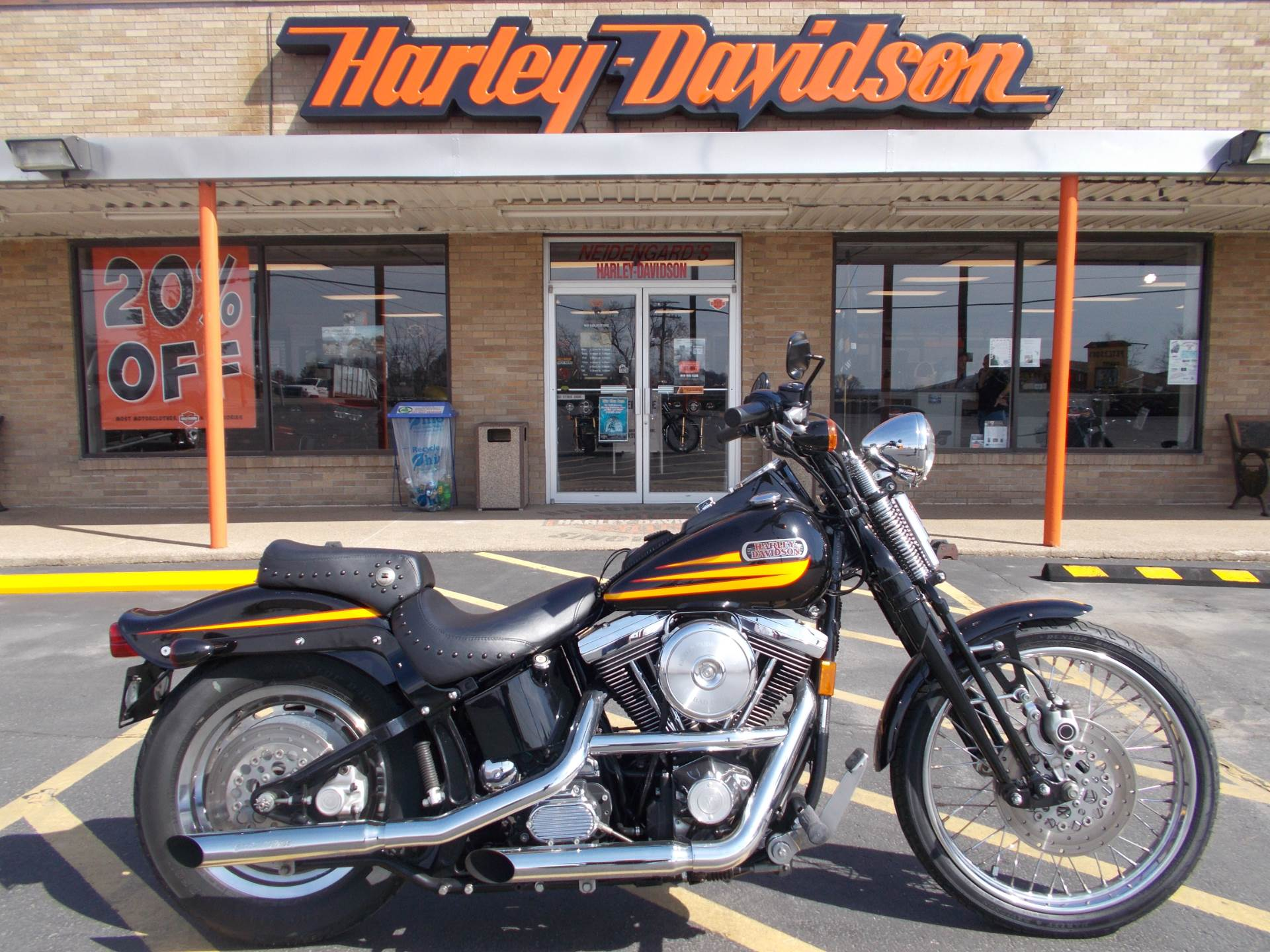 1996 Harley-Davidson Bad Boy in Wintersville, Ohio - Photo 1