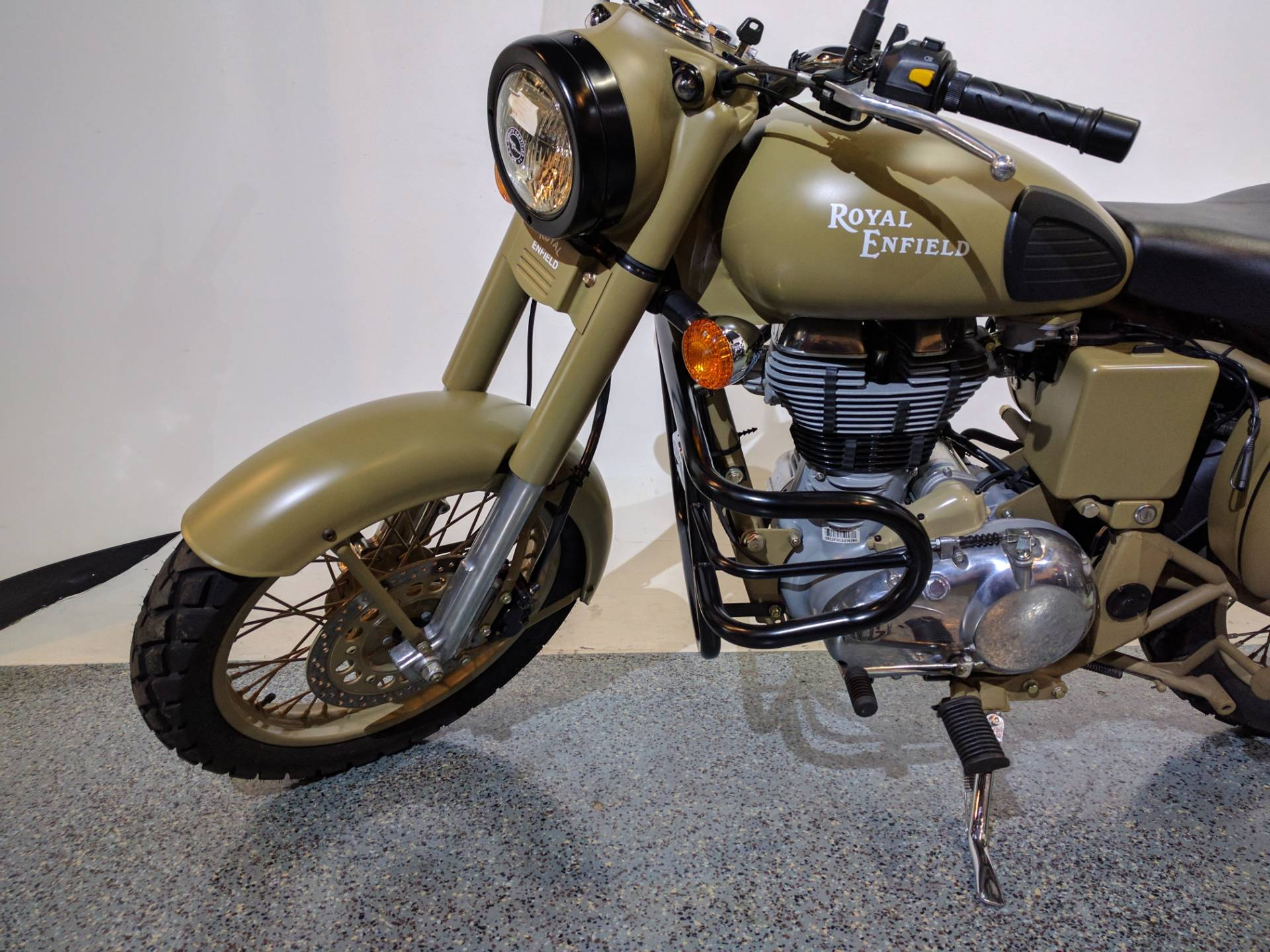 2012 Royal Enfield Bullet C5 Military in Canton, Ohio