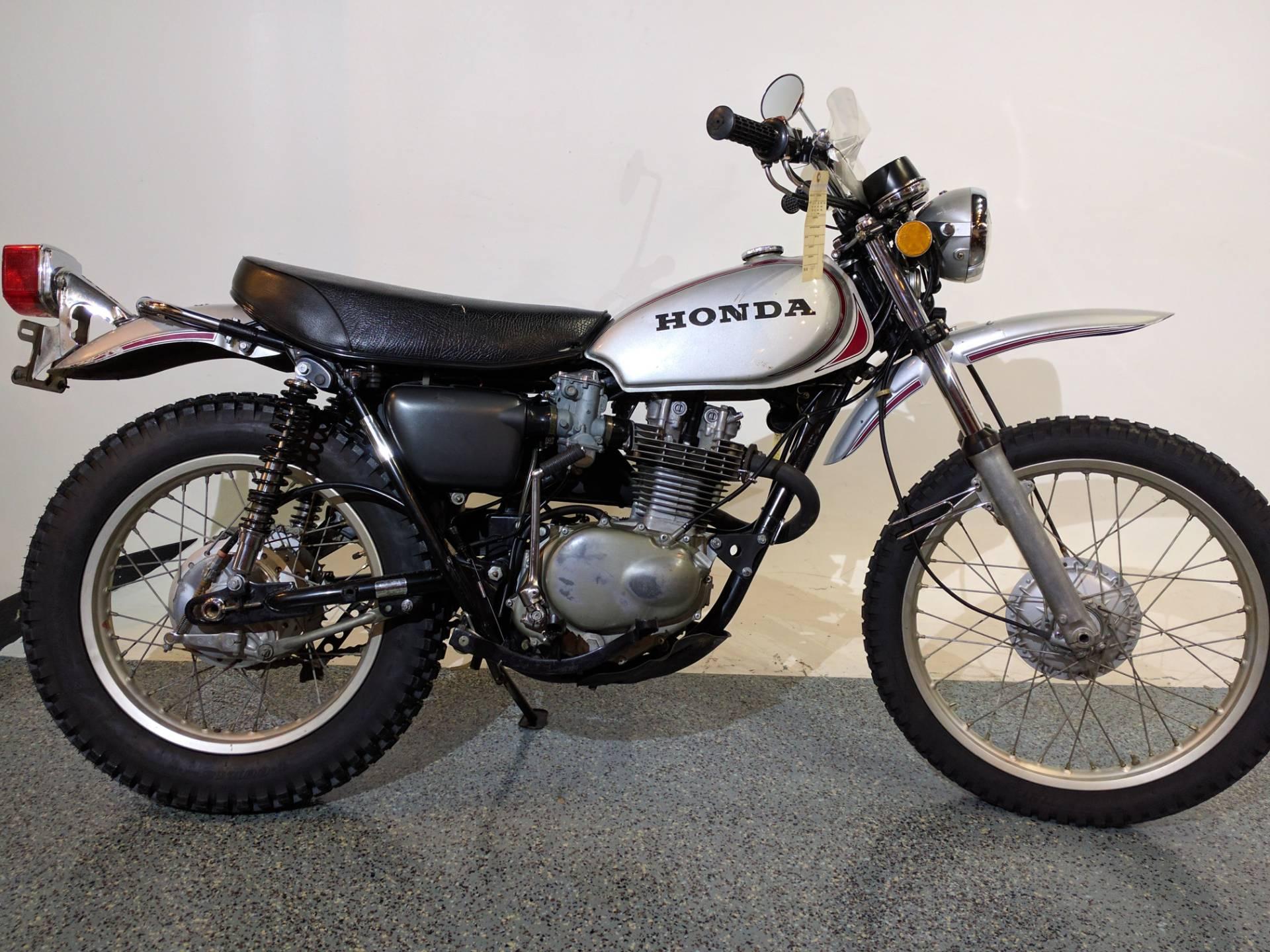 1973 honda xl250 silver motorcycles canton ohio mc022
