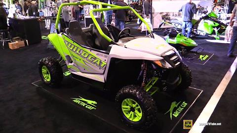 2017 Arctic Cat Wildcat Sport Limited EPS in Draper, Utah