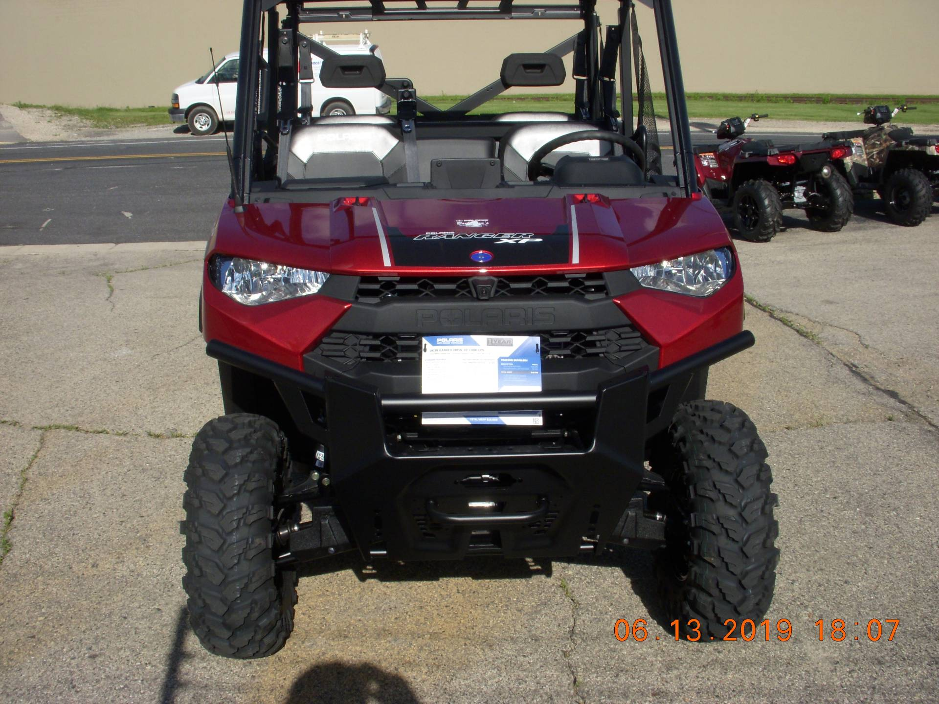 2019 Polaris RANGER CREW XP 1000 EPS Ride Command in Clyman, Wisconsin - Photo 2