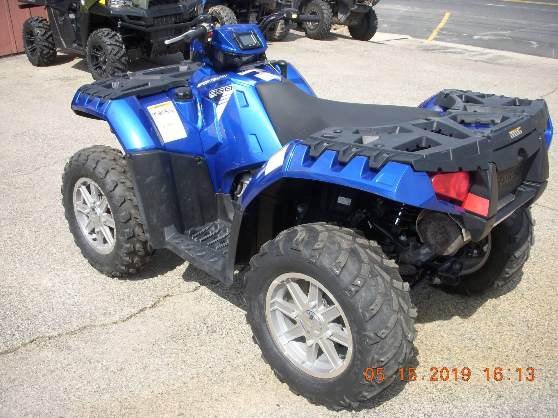 2013 Polaris Sportsman® 550 EPS in Clyman, Wisconsin