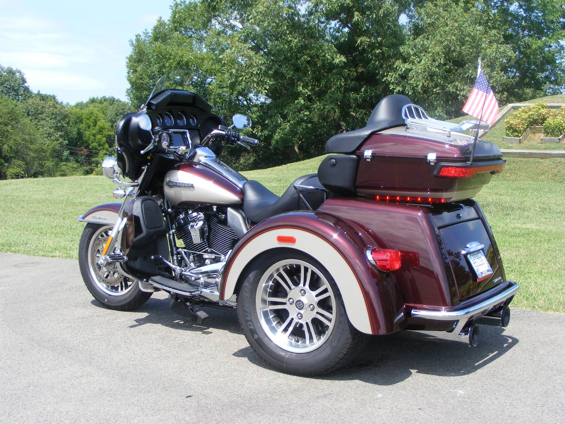 2018 Harley-Davidson Tri Glide® Ultra in Morristown, Tennessee