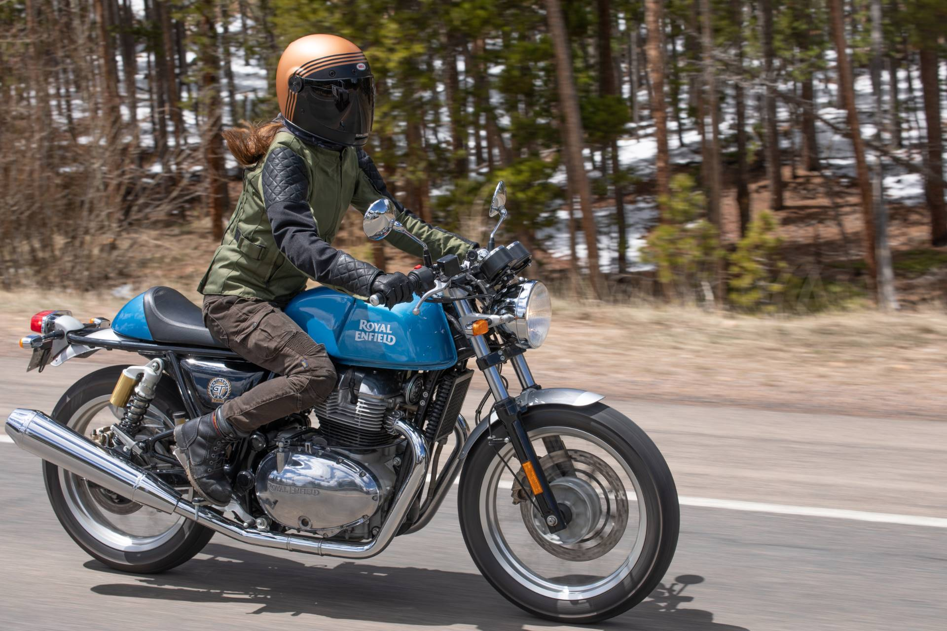2020 Royal Enfield Continental GT 650 in Depew, New York - Photo 3