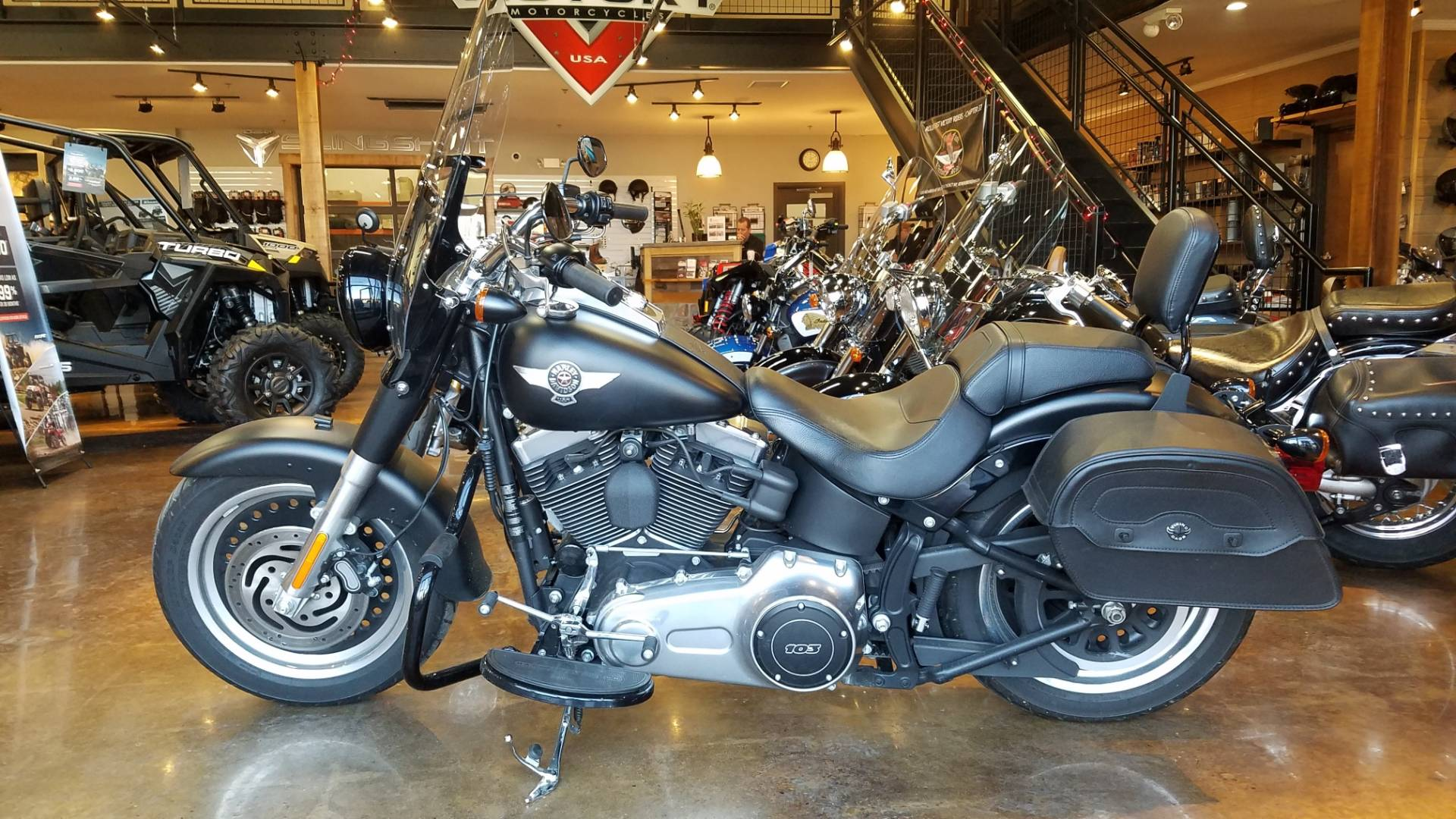 2014 Harley Davidson Fat Boy Lo in Lebanon, New Jersey - Photo 2