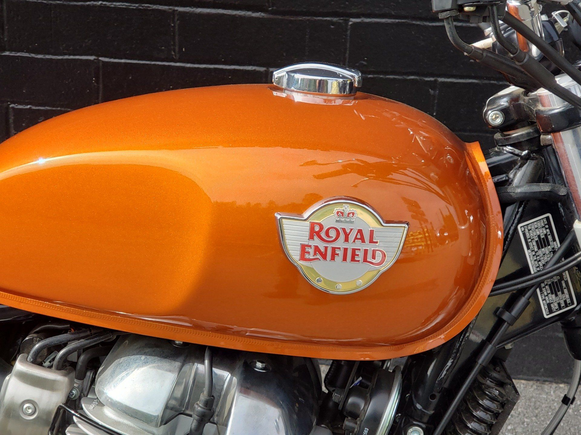 2021 Royal Enfield INT650 in San Jose, California - Photo 4