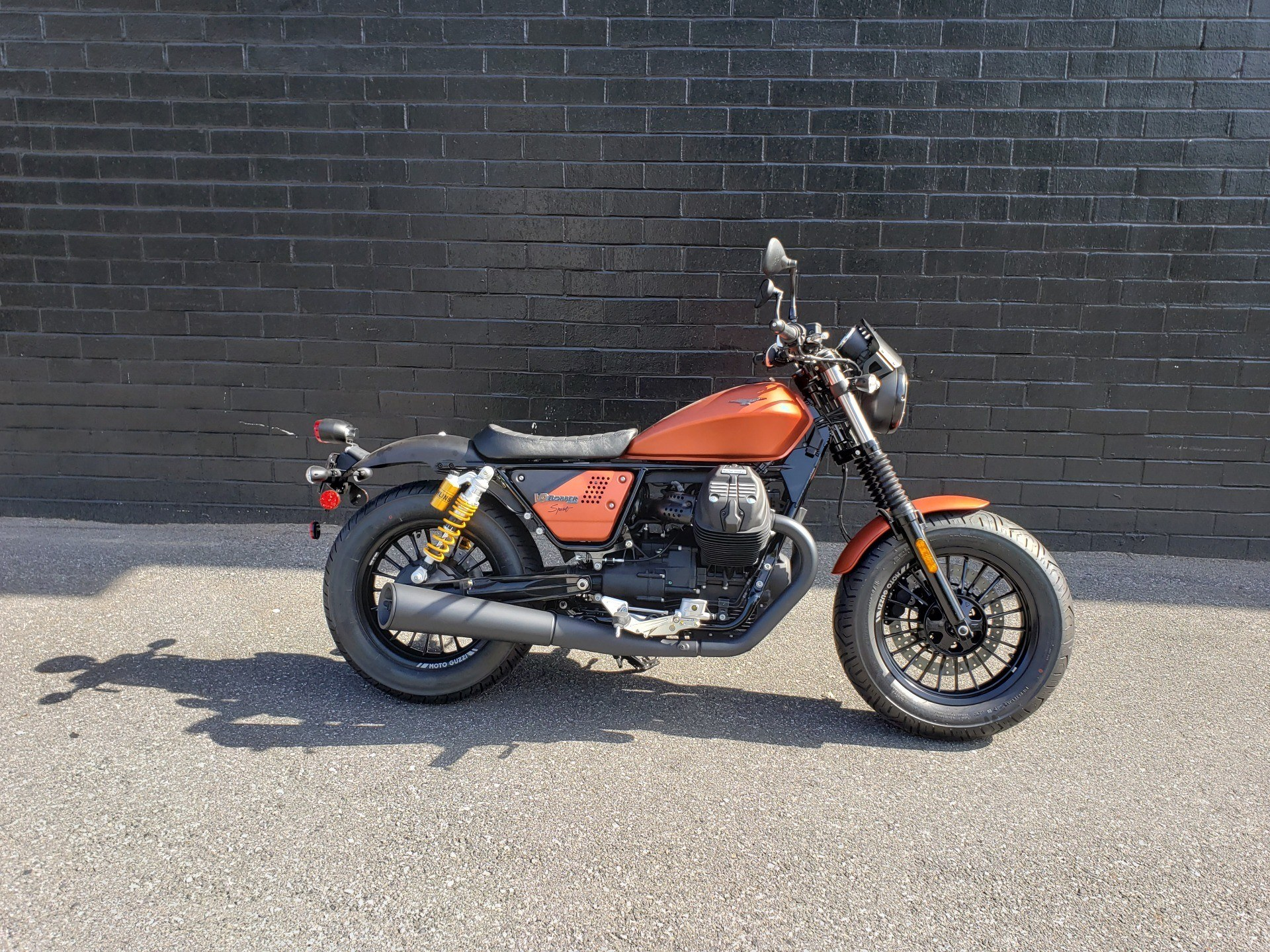 2019 Moto Guzzi V9 Bobber Sport in San Jose, California - Photo 1