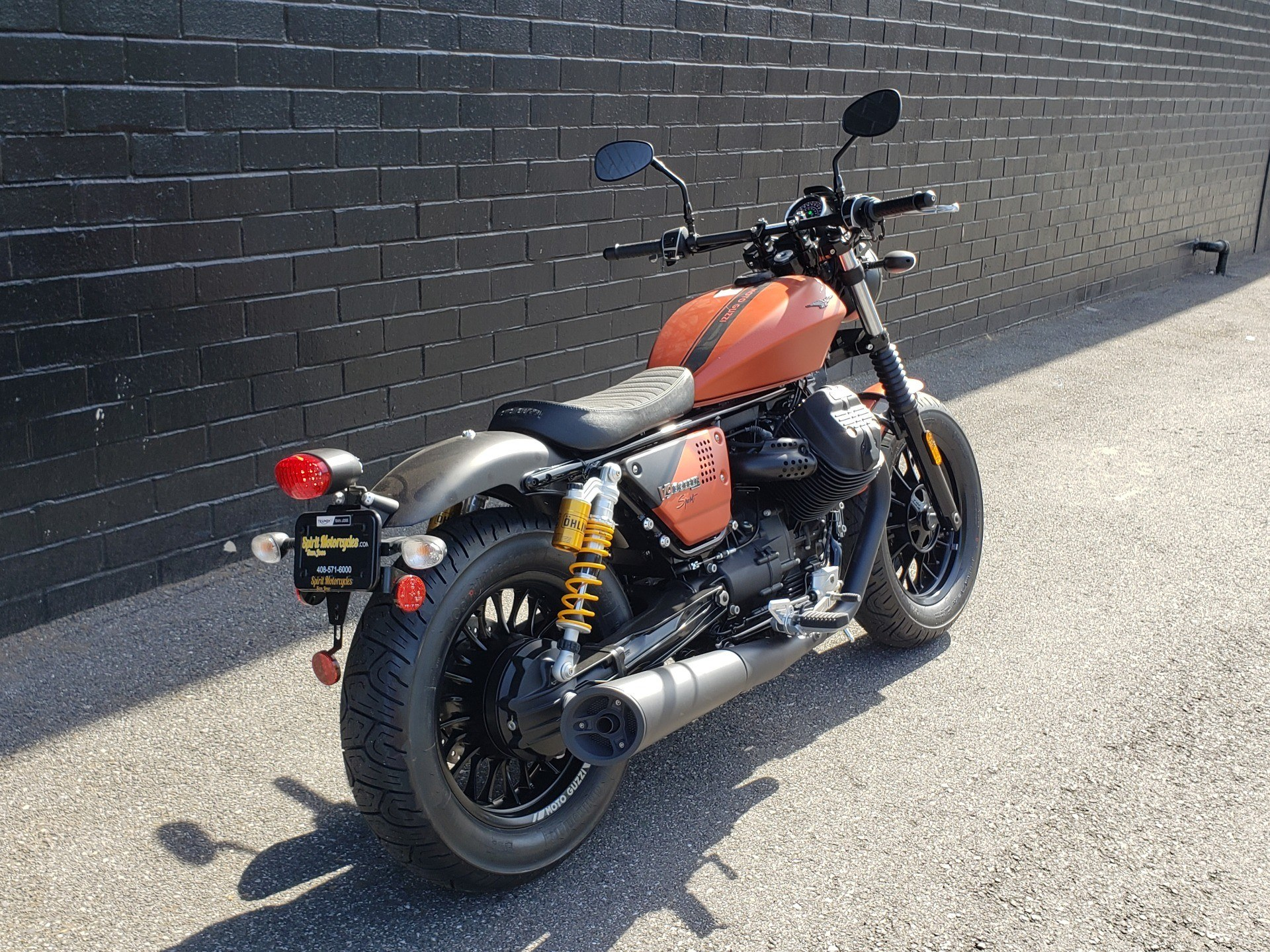 2019 Moto Guzzi V9 Bobber Sport in San Jose, California - Photo 3
